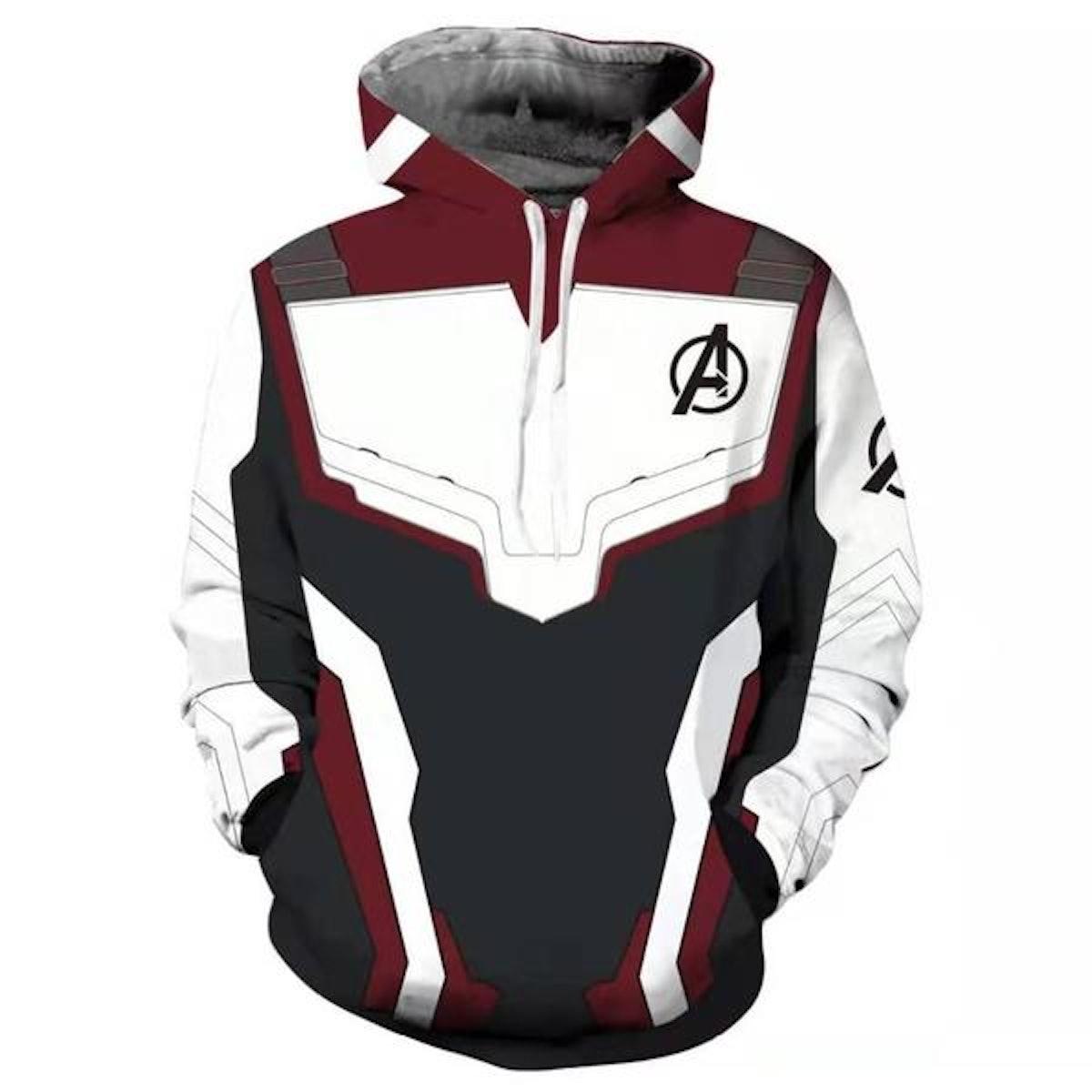 Avengers Endgame 4 Quantum Realm Hooded Sweatshirt