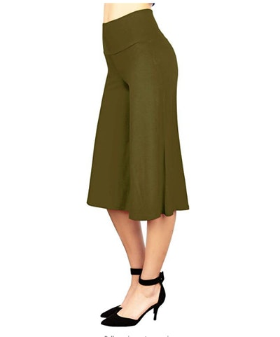 Made By Johnny Women's Wide-Leg Palazzo Culotte