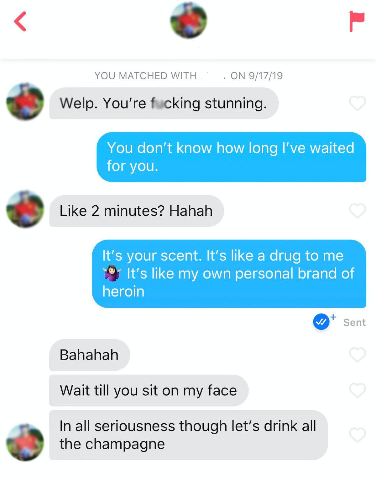 Sending Twilight quotes to Tinder matches doesn't always work.