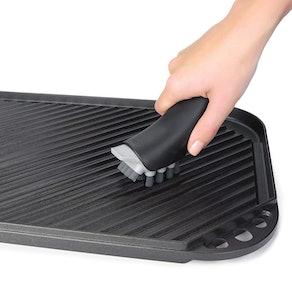 OXO Good Grips Cast Iron Pan Brush