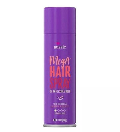 Aussie Mega Hold Hairspray