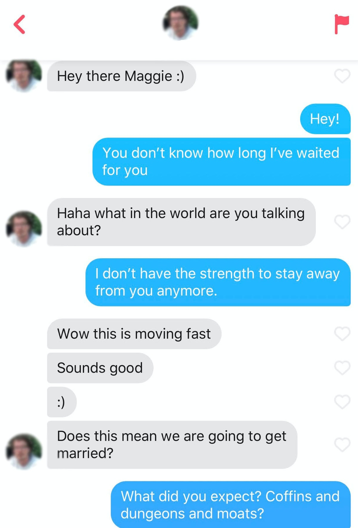 Sending Twilight quotes to Tinder matches can get playful.
