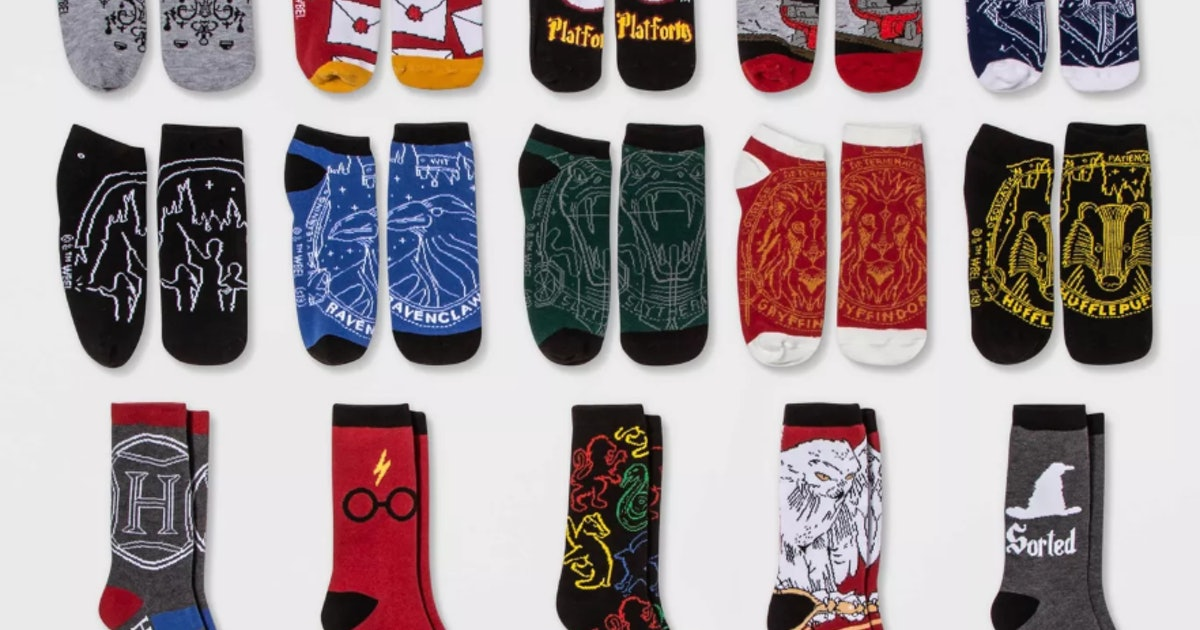 Target's 2019 Sock Advent Calendars Include 'Harry Potter' & 'GOT' Options For A Magical Countdown