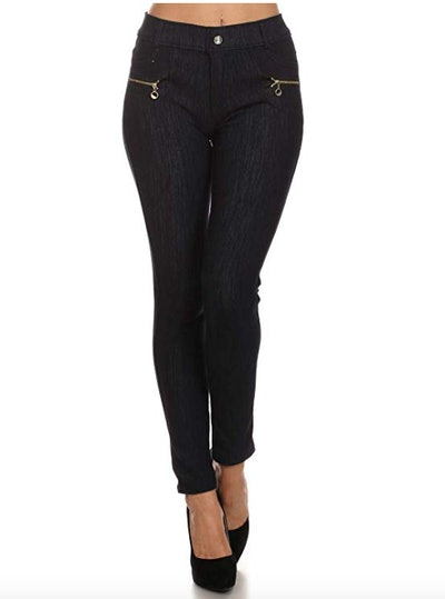 ICONOFLASH Fleece-Lined Cold Weather Jeggings