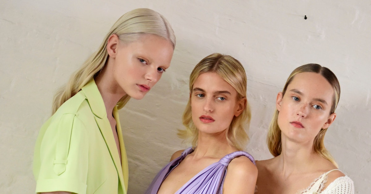 New York Fashion Week Spring/Summer 2020's Color Trends Included These Pastel & Sherbet Hues
