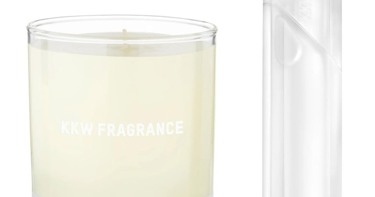KKW Fragrance's Crystal Gardenia Candle Will Make Your Room Smell Like Kim