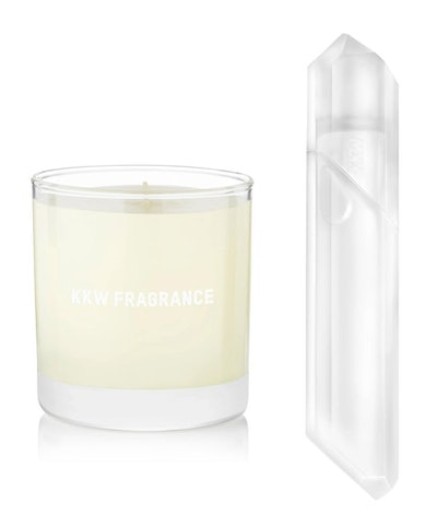 KKW Fragrance Candle + Crystal Gardenia Fragrance Bundle