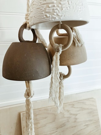 Ceramic Bells (made to order - sold separately)
