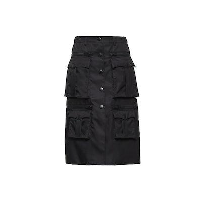 Nylon Gabardine Skirt