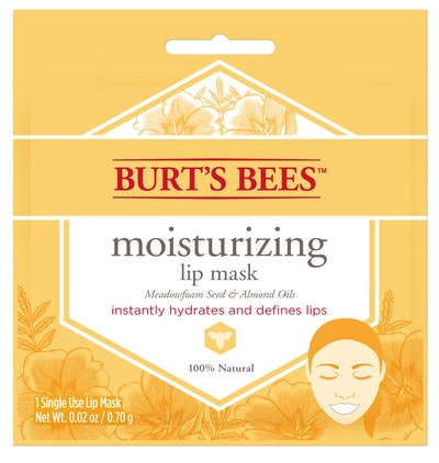 Burt's Bees 100% Natural Moisturizing Lip Mask, Single Use Conditioning Lip Care , 1 Count