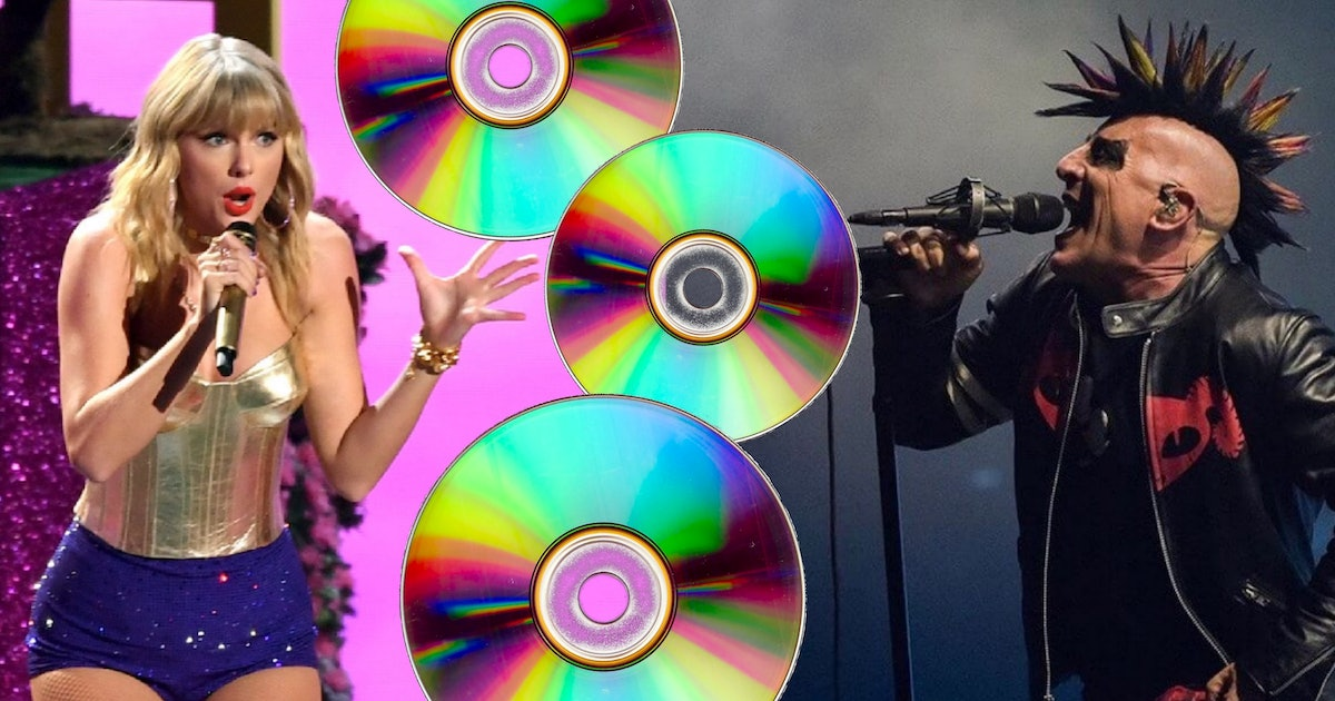 Taylor Swift and Tool are keeping CDs alive in the streaming age