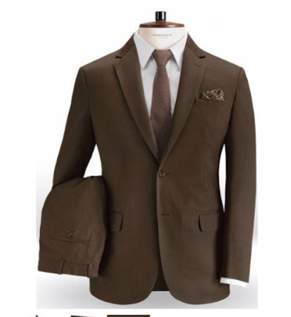 Forest Brown Chino Suit