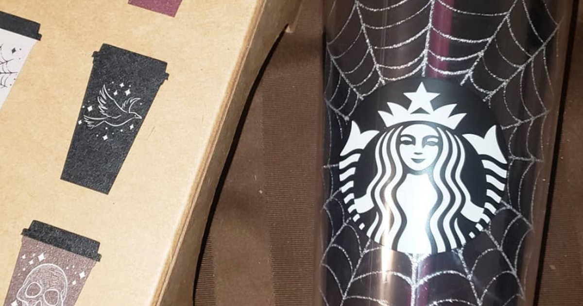 Starbucks' Halloween Reusable Hot Cups Are A Scary-Cute Addition To Your Fall Sips