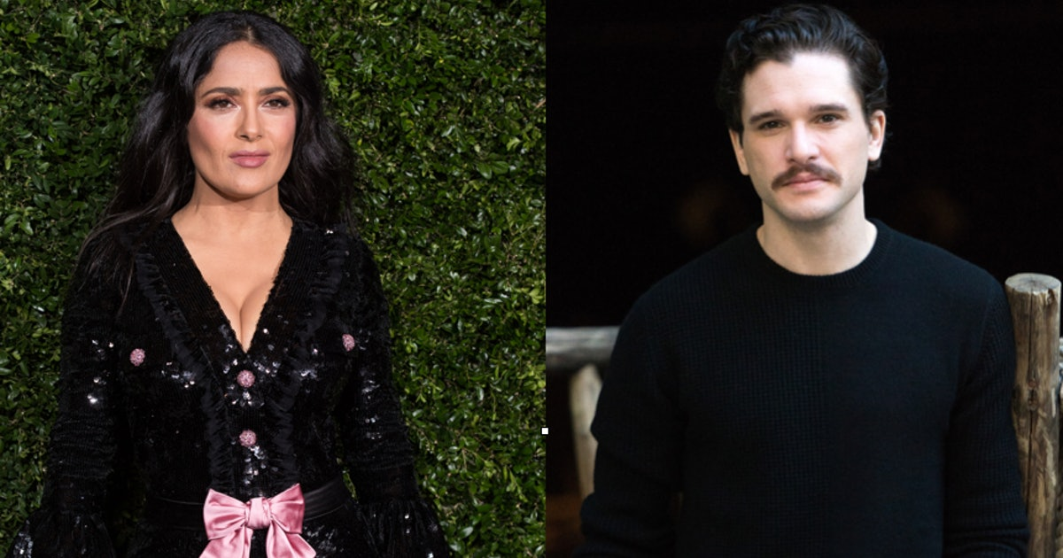 Kit Harington & Salma Hayek Are Staring In A New Marvel Movie Together