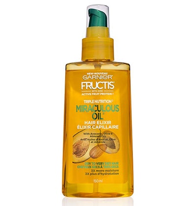 Garnier Hair Care Fructis Triple Nutrition Marvelous Oil Hair Elixir