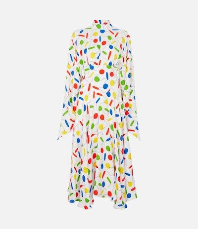 Looner High-Neck Dress