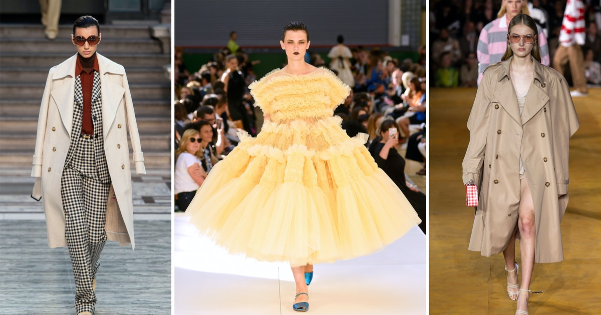 5 London Fashion Week SS20 Trends To Wear Right Now, Because Big Dress Energy Waits For No One