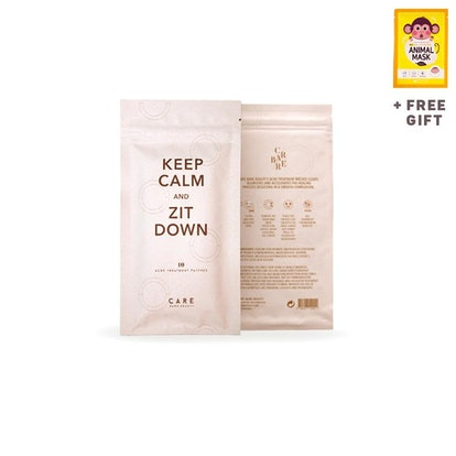 Keep Calm and Zit Down Acne Treatment Mask