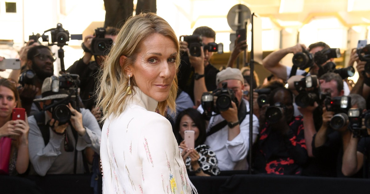 Celine Dion is still here to pull our heartstrings