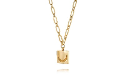 Estee LaLonde Luna Lock Necklace