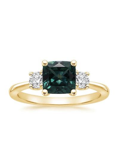 Tapered Three Stone Diamond Ring