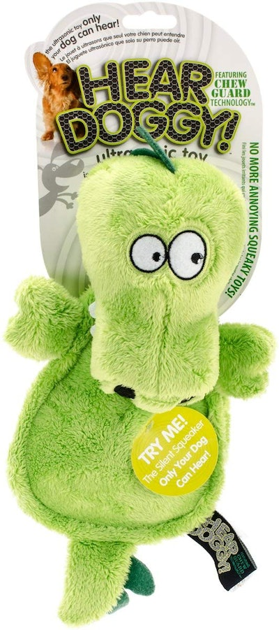 Hear Doggy! Plush Toy with Chew Guard Technology