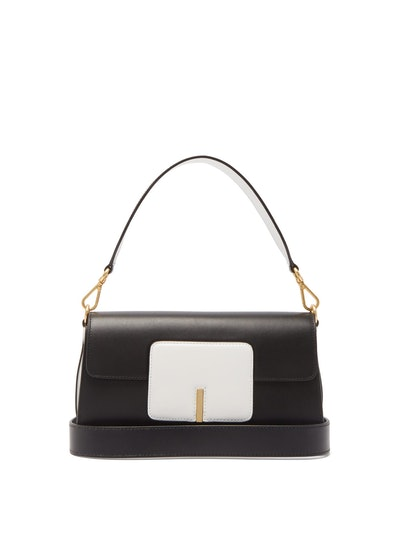 Georgia Bi-Colour Leather Shoulder Bag