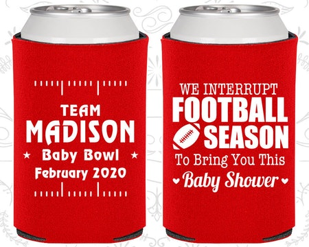Custom Baby Shower Coozie