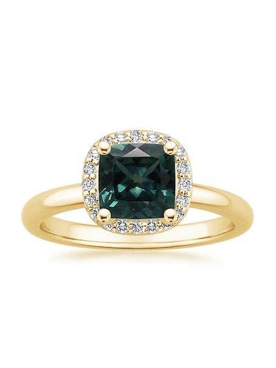 Fancy Halo Diamond Ring