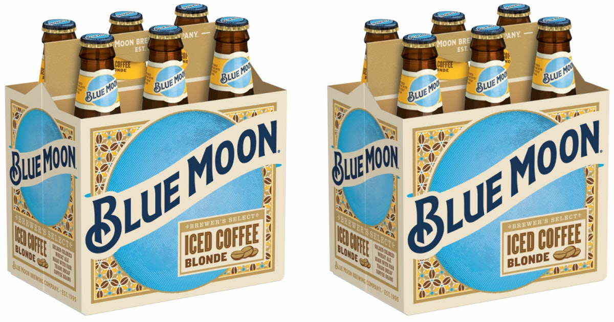 Blue Moon's Iced Coffee Blonde Beer Is A Combo Of Your 2 Fave Sips