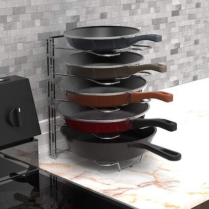 Simple Houseware Kitchen Cabinet Organizer Rack
