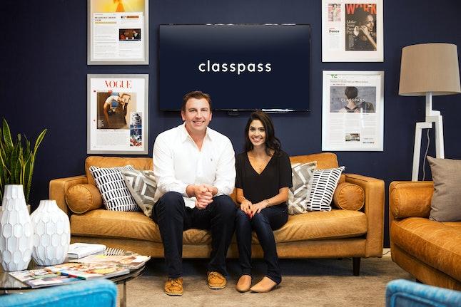ClassPass executives Payal Kadakia and Fritz Lanman