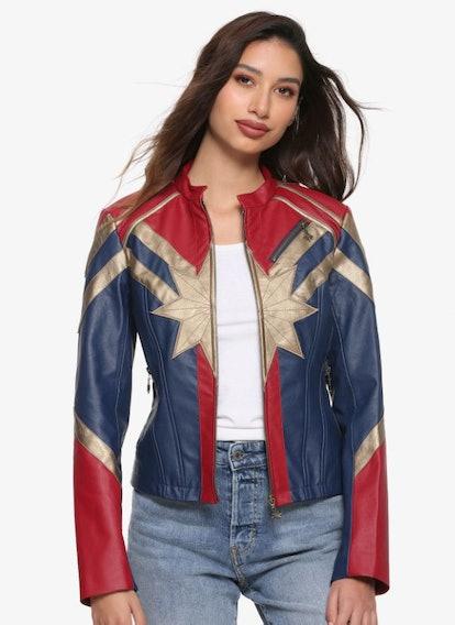 Her Universe Captain Marvel Jacket