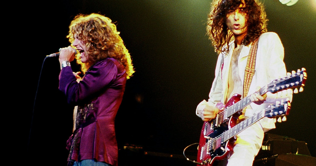 Trump sides with Led Zeppelin and record companies in copyright battle