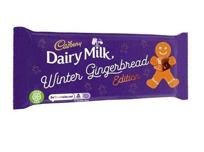 Dairy Milk Winter Gingerbread Edition