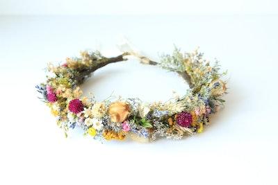 Colorful Meadow Flower Crown
