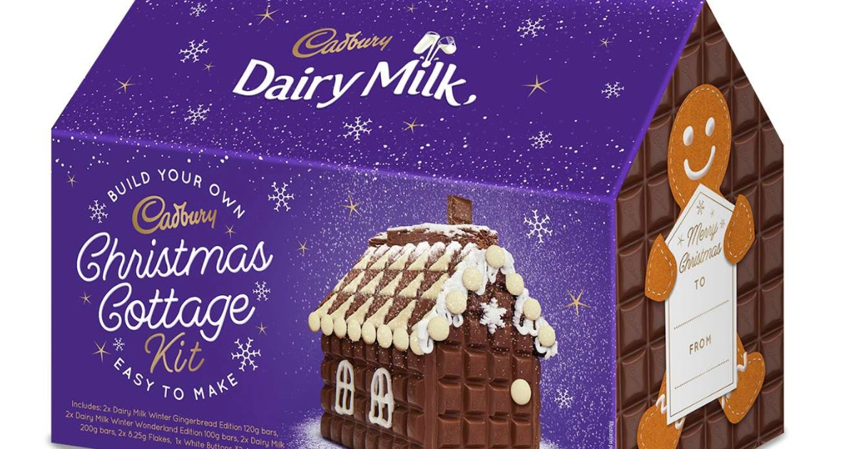 Where To Buy Cadbury's New Christmas Cottage In The UK, Because It's Festive AF