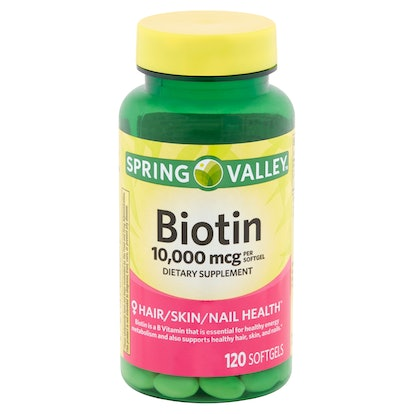 Spring Valley Biotin Softgels, 10,000 mcg, 120 count