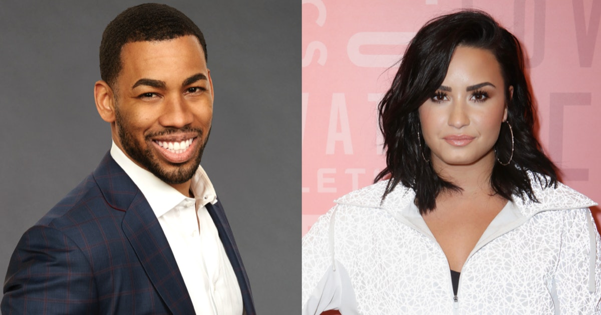 "'Bachelor' Alum Mike & Demi Lovato Went On A Date Was ""Amazing"""