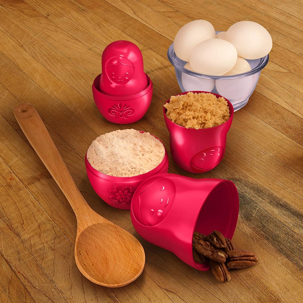 Fred & Friends Matryoshka Measuring Cups (Set Of 6)