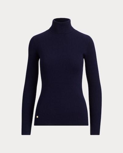 Cotton Turtleneck Sweater