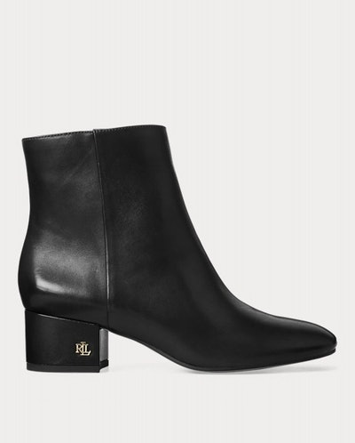 Welford Leather Bootie