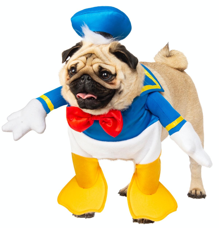 Walking Donald Duck Disney Dog Costume