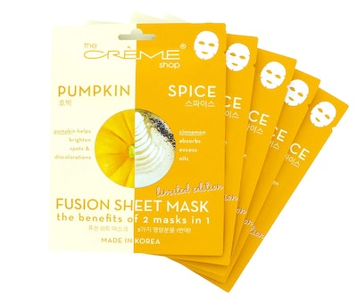 The Creme Shop Pumpkin & Spice Fusion Sheet Mask