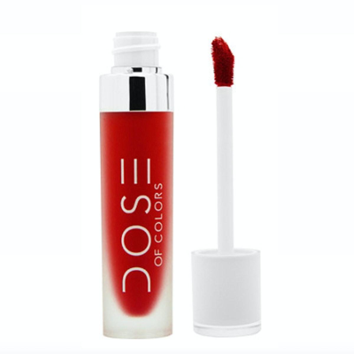 "Dose Of Colors Matte Liquid Lipstick in ""Kiss Of Fire"""