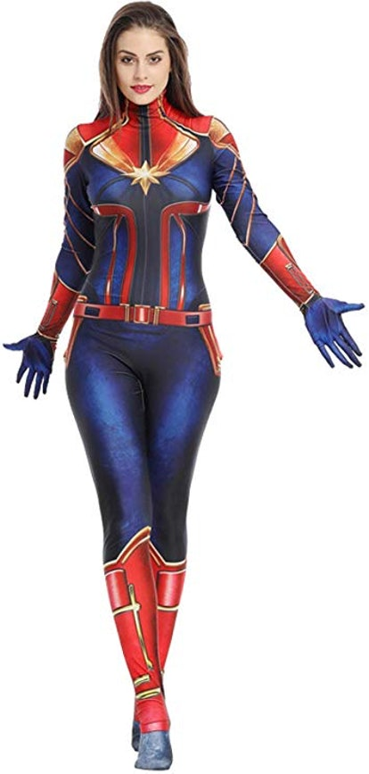6 Captain Marvel Halloween Costumes That Are Simply Marvel Ous See more ideas about captain marvel carol danvers, captain marvel, captain. 6 captain marvel halloween costumes