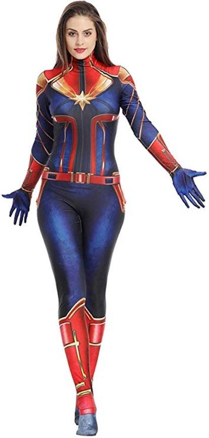 Captain Marvel Costume, Endgame