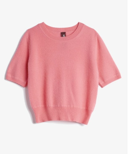 Short Sleeve Crew Sweater