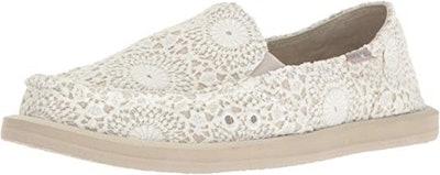 Sanuk Donna Crochet Loafer Flat