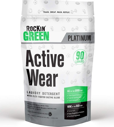 Rockin' Green Platinum Series Active Wear Laundry Detergent Powder (90 Loads)